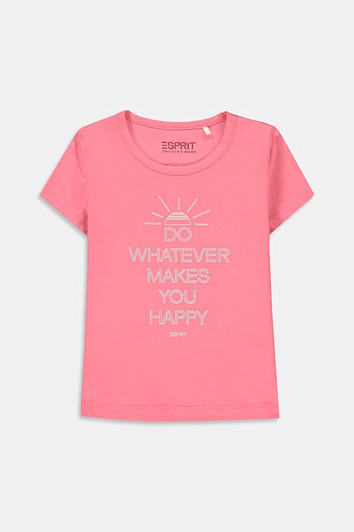 Statement print T-shirt, PINK, detail image number 0