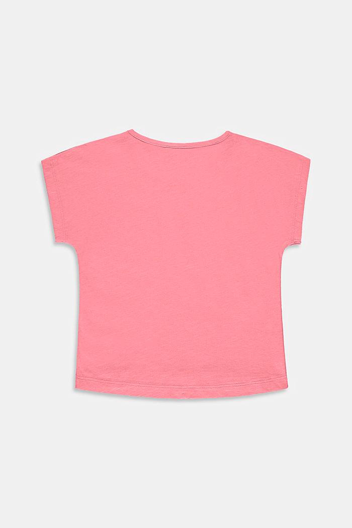 Camiseta con bolsillo en el pecho, 100% algodón, PINK, detail image number 1