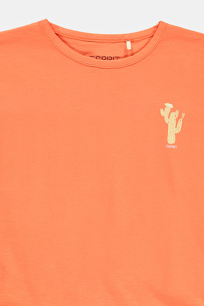 T-Shirts, PEACH, detail image number 2