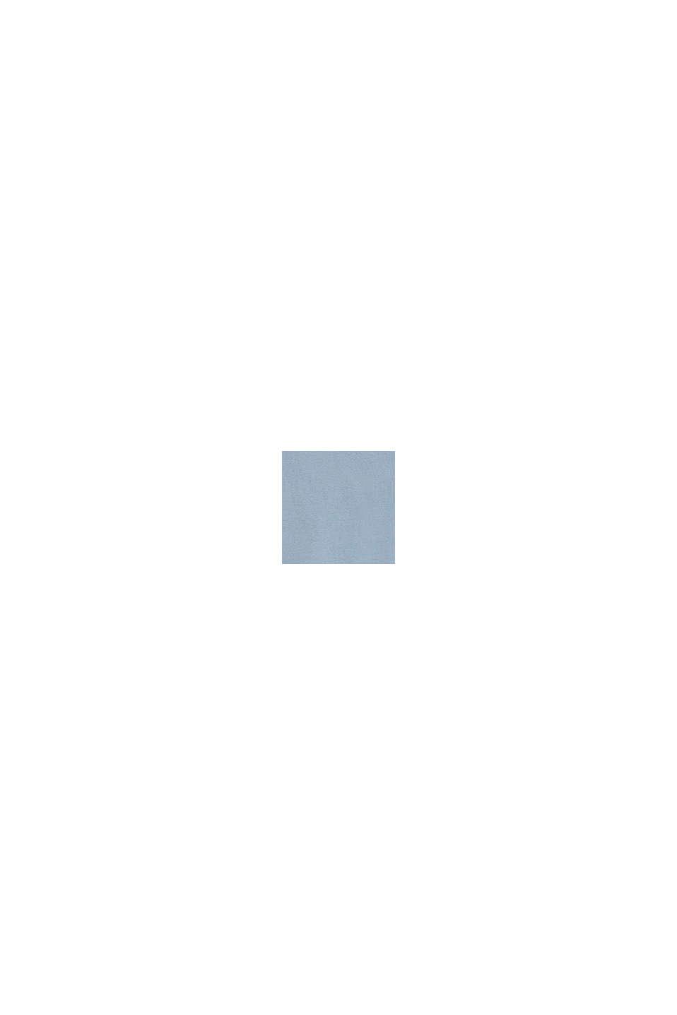 Logo-Sweatshirt aus 100% Baumwolle, GREY BLUE, swatch