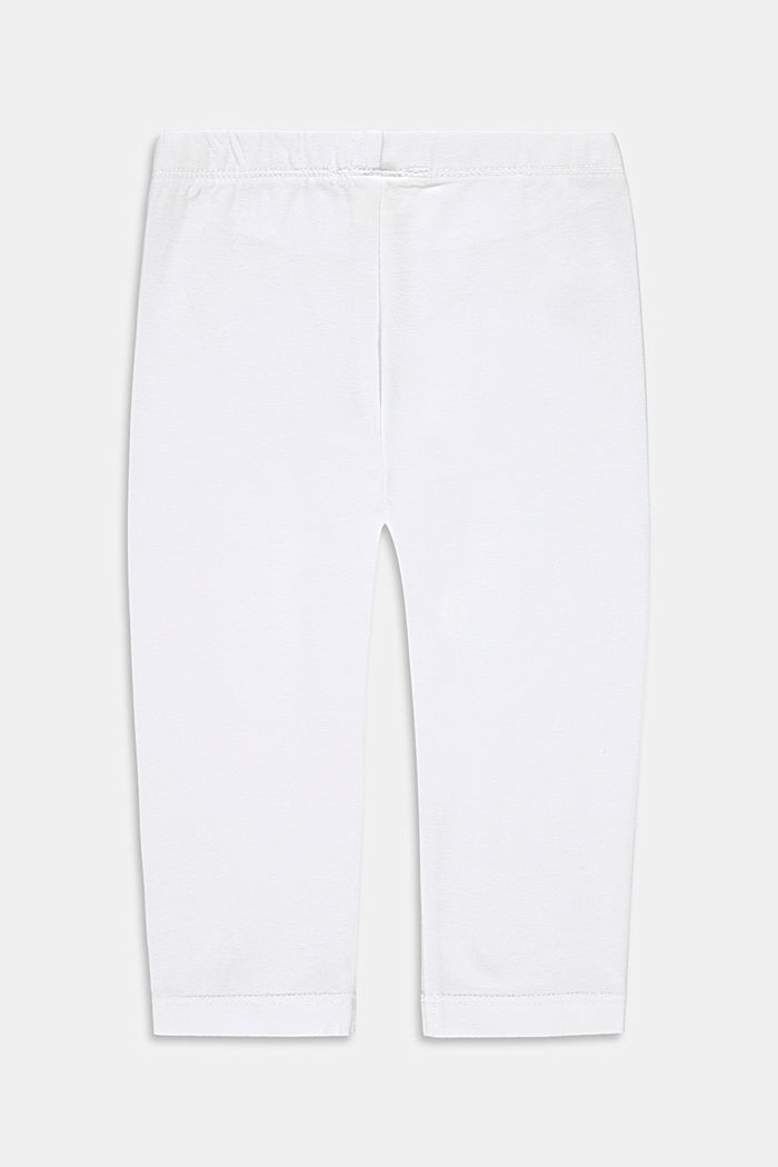 Pants knitted, WHITE, detail image number 1