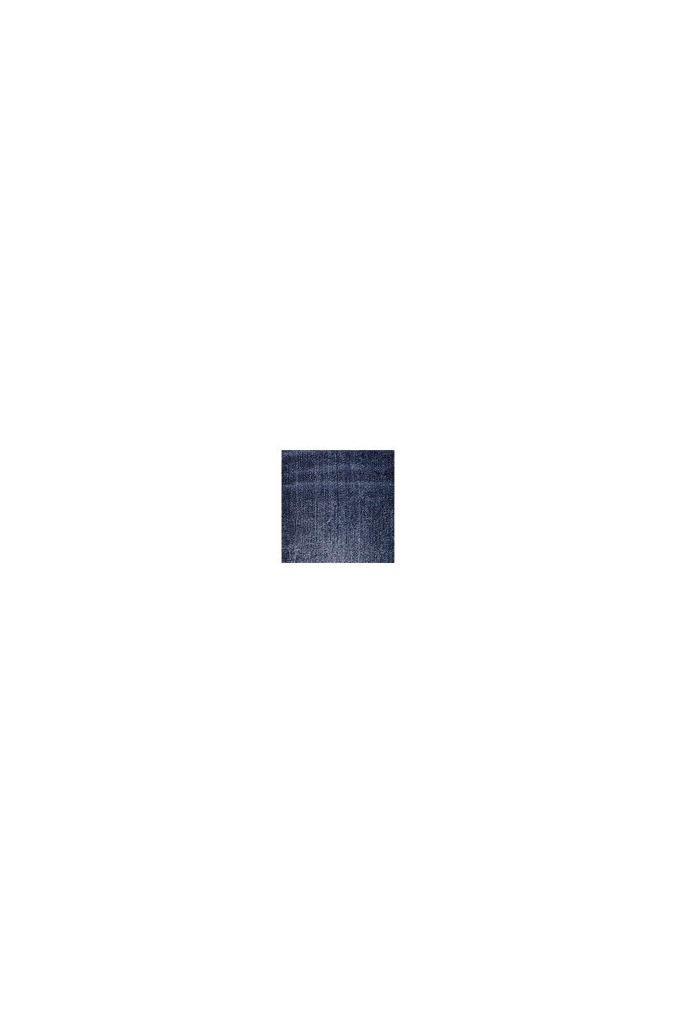 Jeggings i bomullsmix med resårlinning, BLUE MEDIUM WASHED, swatch