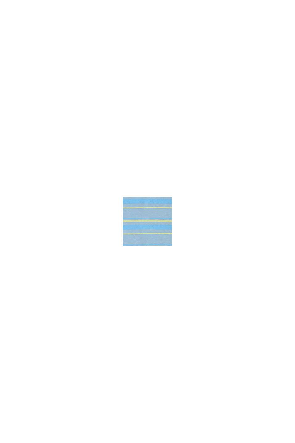 Gestreepte jersey jurk van 100% katoen, BLUE LAVENDER, swatch