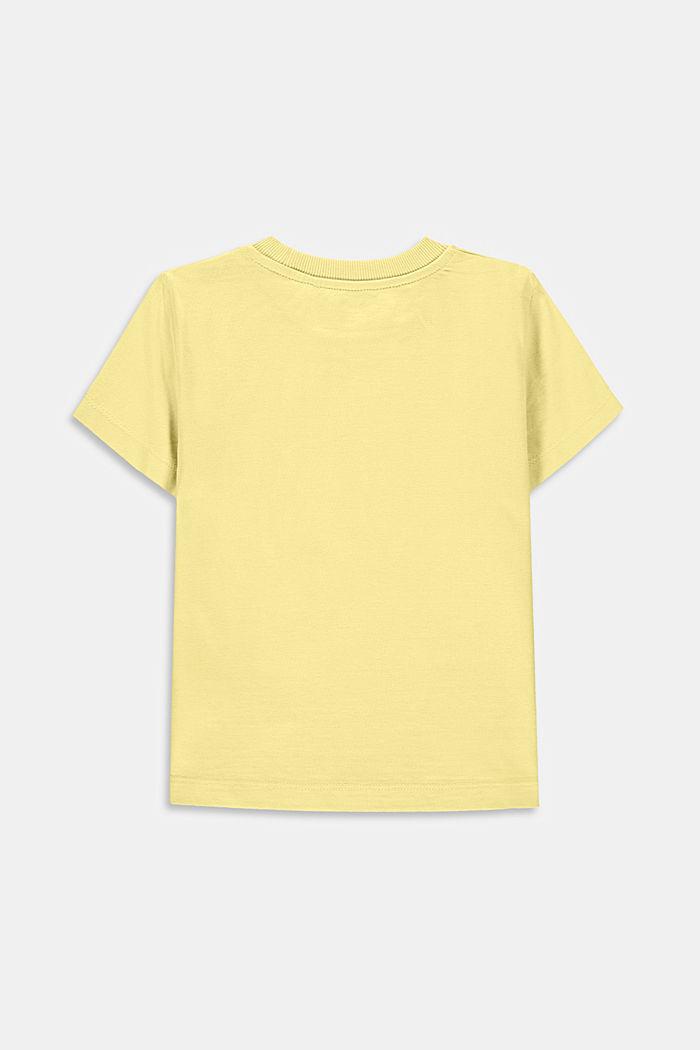 Camiseta con estampado, 100% algodón, BRIGHT YELLOW, detail image number 1