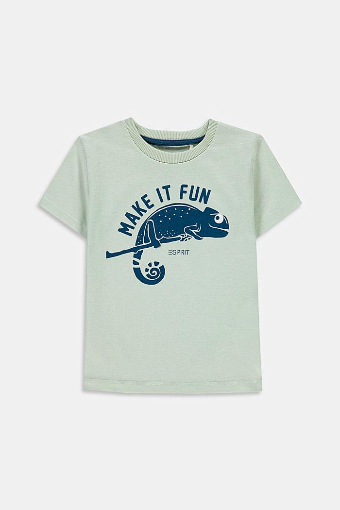 T-shirt à imprimé caméléon