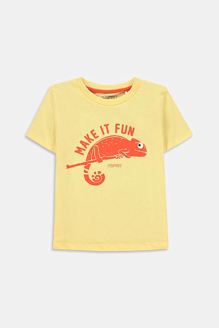T-shirt met kameleonprint