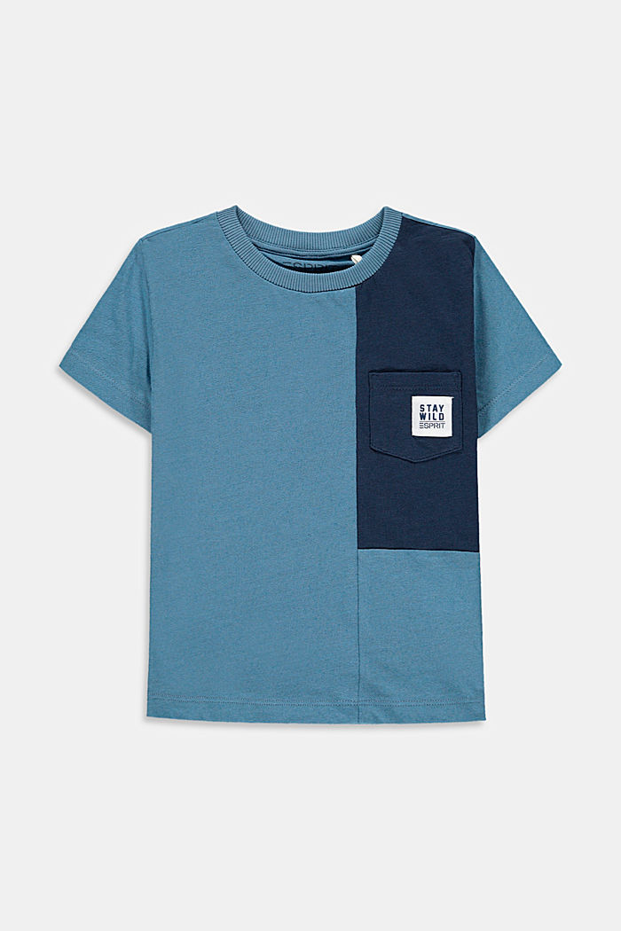 À teneur en lin : le t-shirt colour blocking