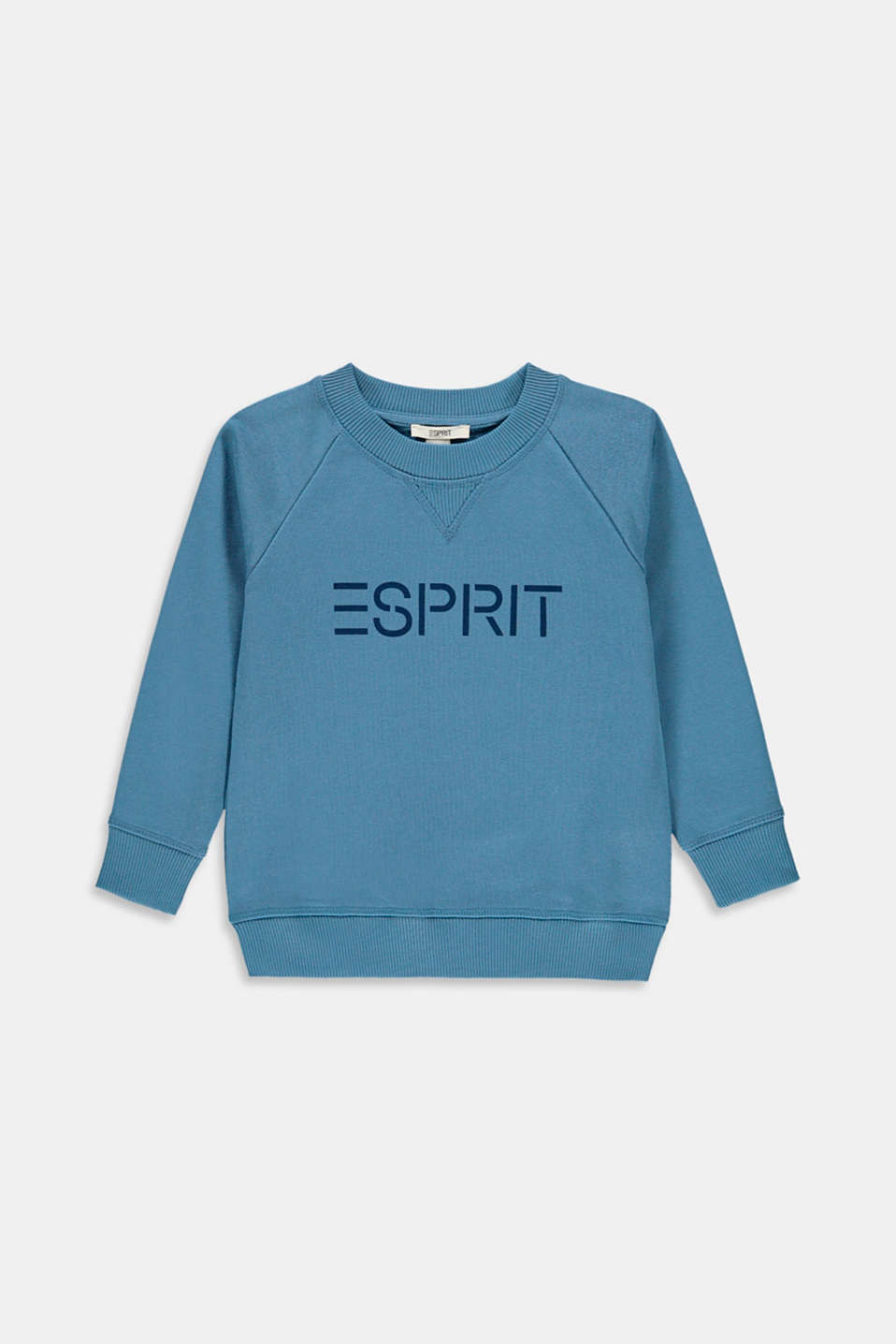 Esprit - Sweat-shirt à logo, 100 % coton