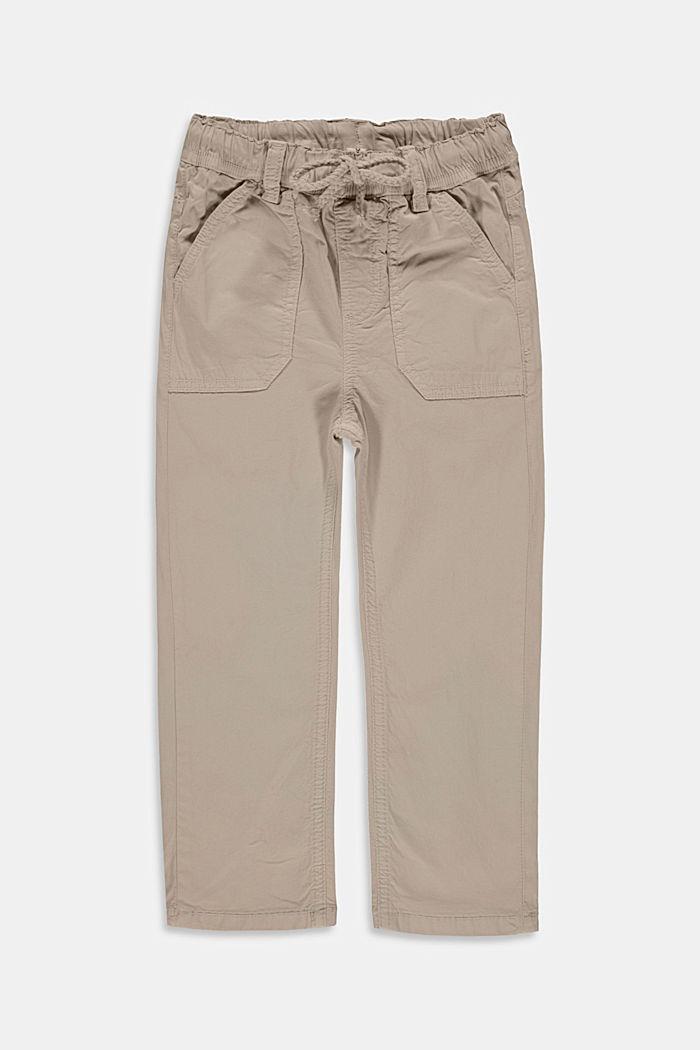 Hose mit elastischem Kordelzugbund