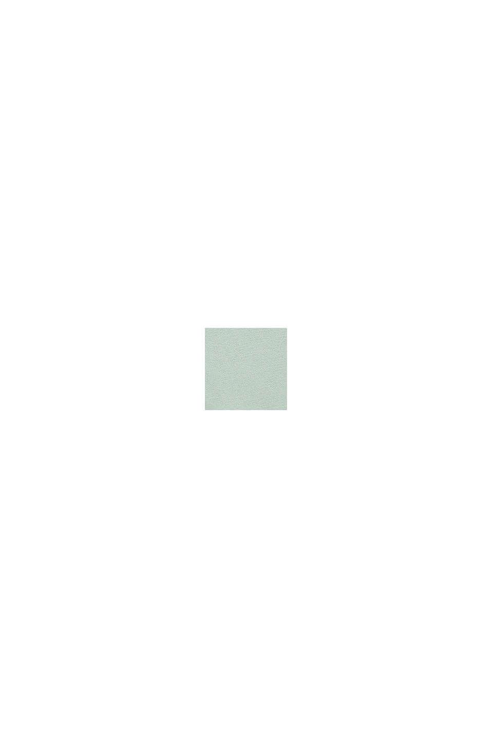 Bermudy dresowe z nadrukiem, 100% bawełny, PASTEL GREEN, swatch