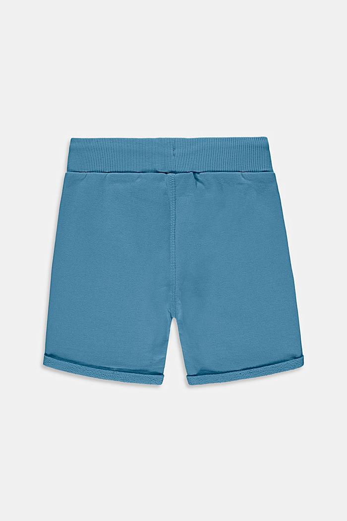 Shorts knitted, GREY BLUE, detail image number 1