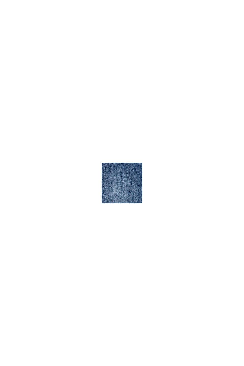 Jeans-Bermuda mit Verstellbund, BLUE MEDIUM WASHED, swatch