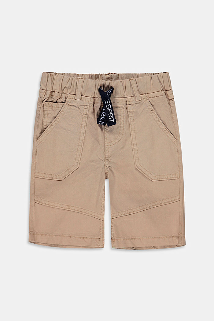Web-Shorts mit elastischem Kordelzugbund