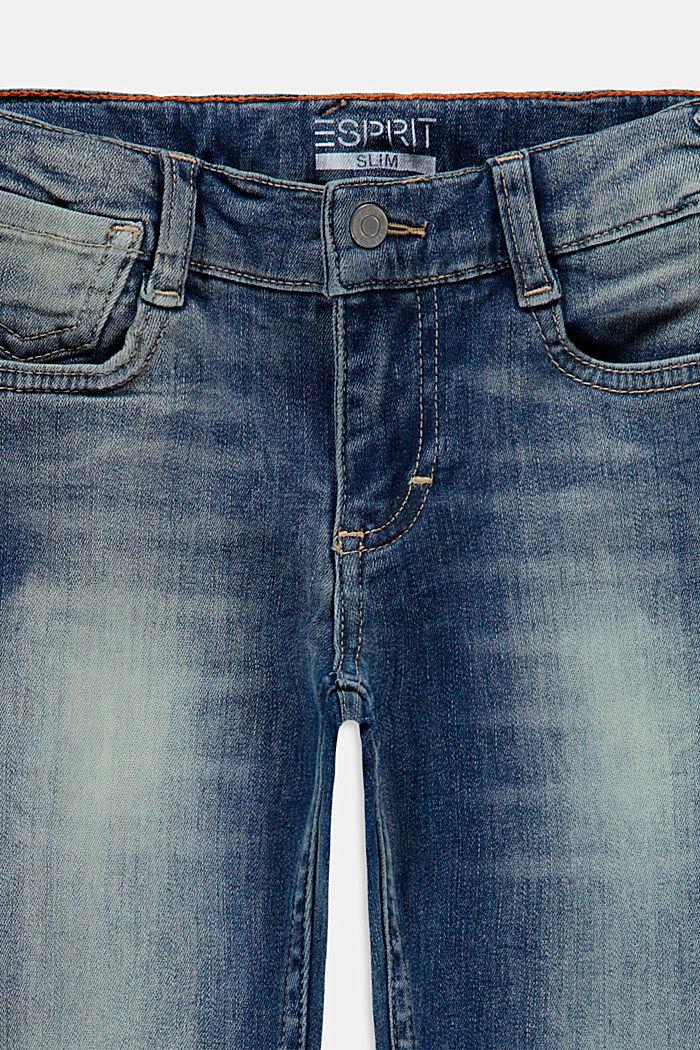 Pants denim, BLUE MEDIUM WASHED, detail image number 2