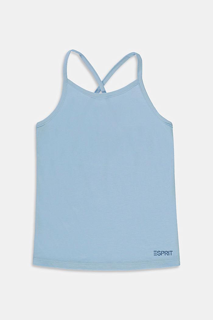 T-Shirts, BLUE LAVENDER, detail image number 0