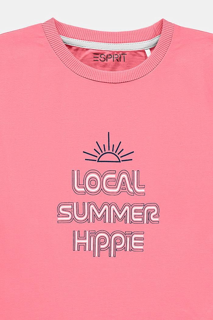 T-Shirt mit Statement-Print, PINK, detail image number 2