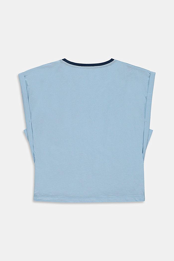 T-Shirt mit Kaktus-Print aus 100% Baumwolle