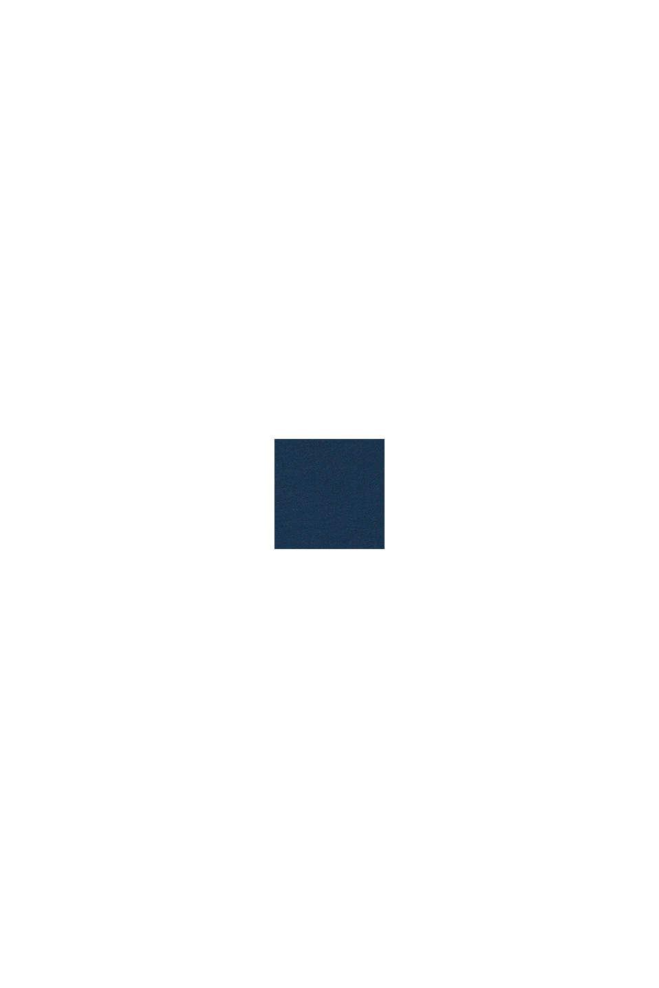 Top mit rückseitigen Bänden-Details, PETROL BLUE, swatch