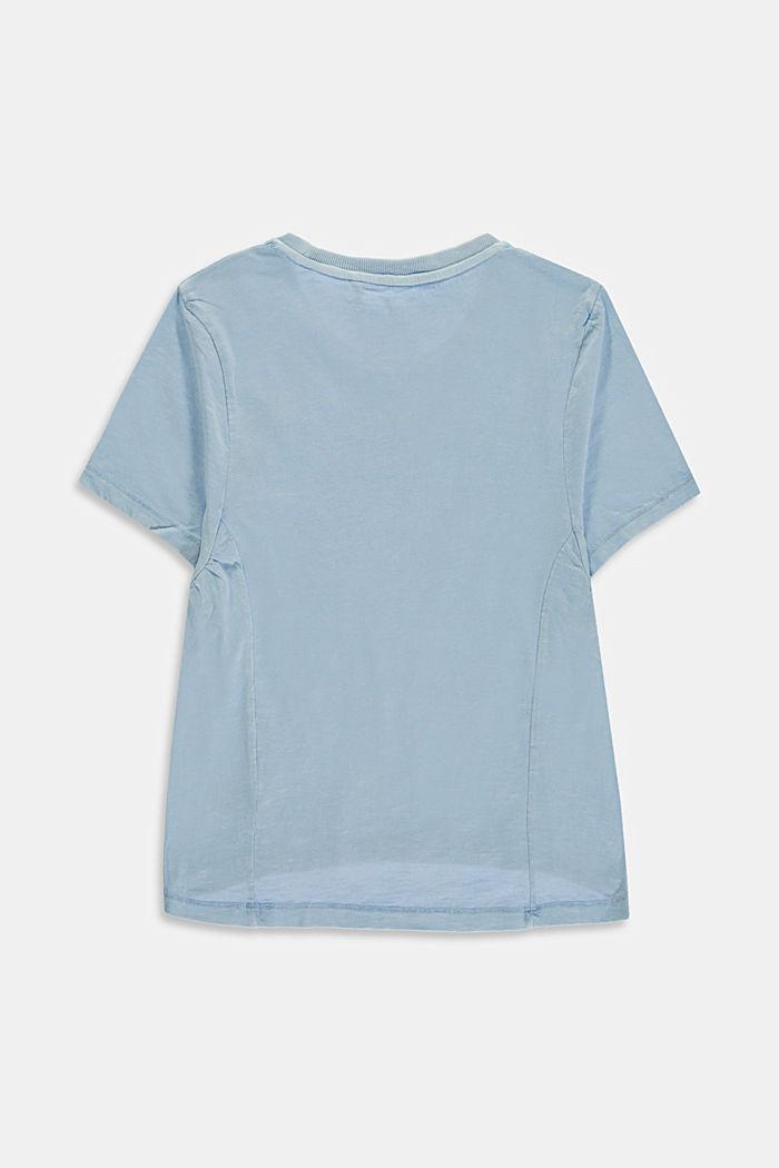 Oversize-T-Shirt aus 100% Baumwolle, BLUE LAVENDER, detail image number 1