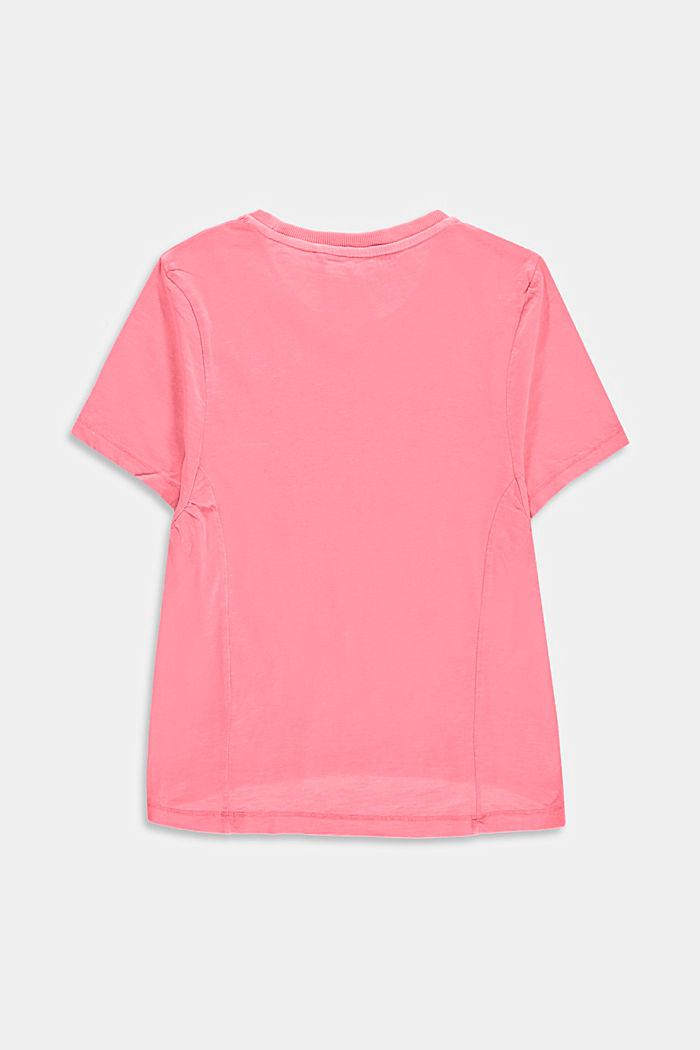 Oversize-T-Shirt aus 100% Baumwolle