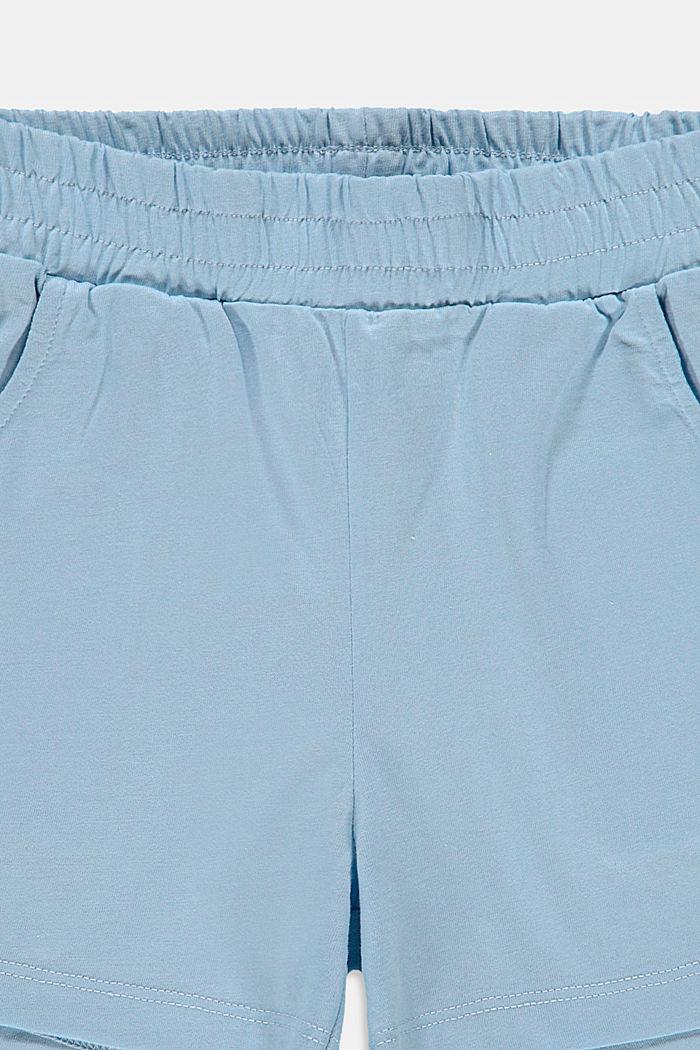 Shorts knitted, BLUE LAVENDER, detail image number 2