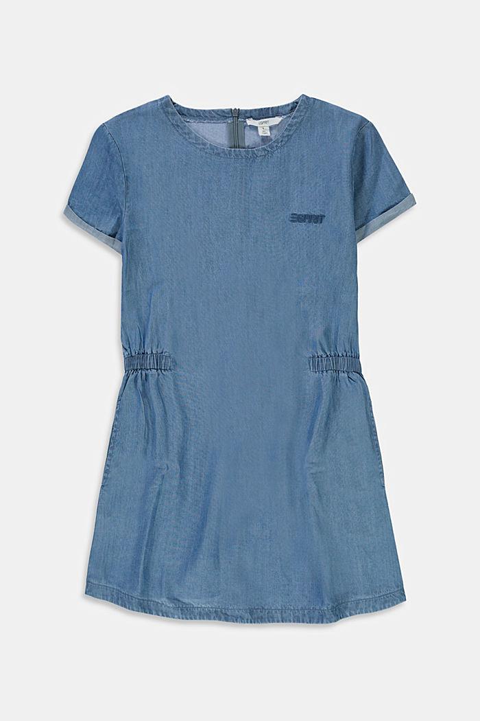 Van lyocell: jurk met denim look