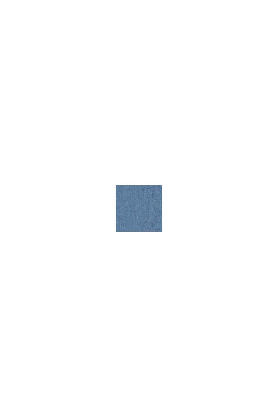 Van lyocell: jurk met denim look, BLUE LIGHT WASHED, swatch