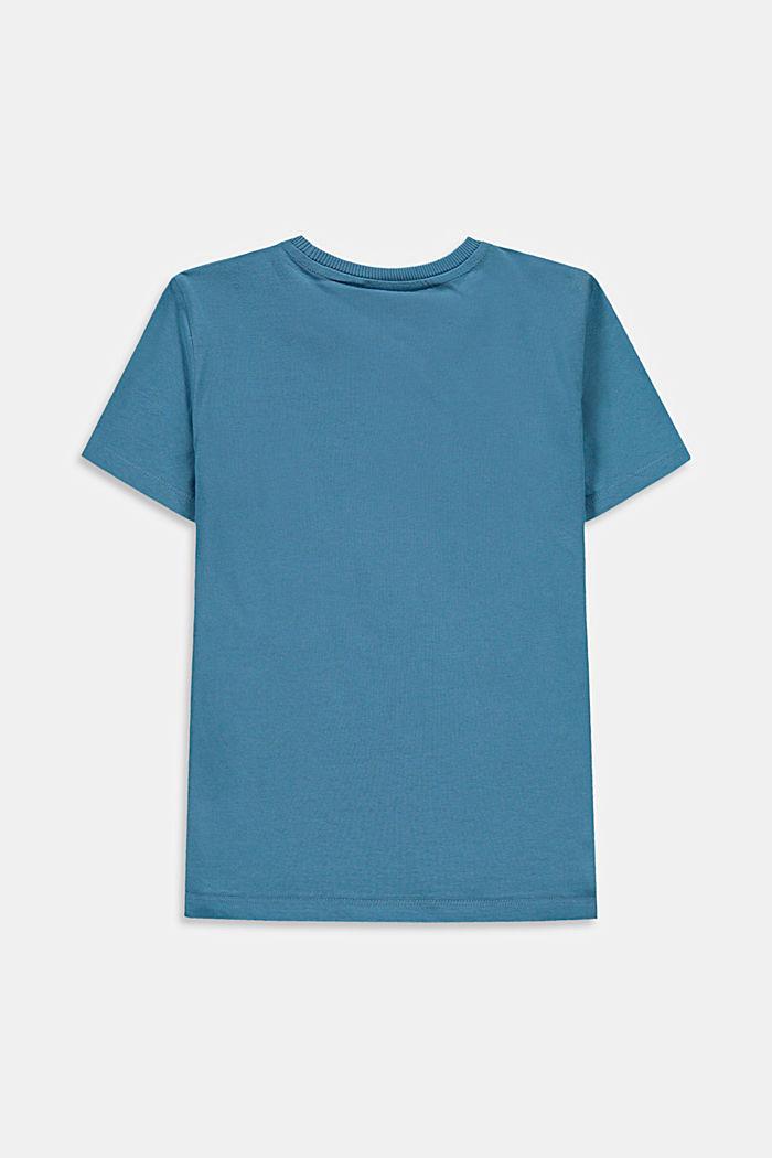 T-Shirt mit Logo-Print, 100% Baumwolle