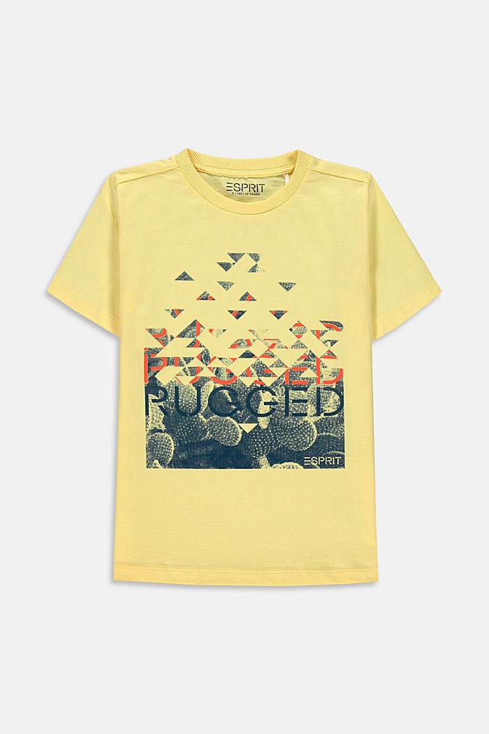 T-Shirt mit Print, 100% Baumwolle