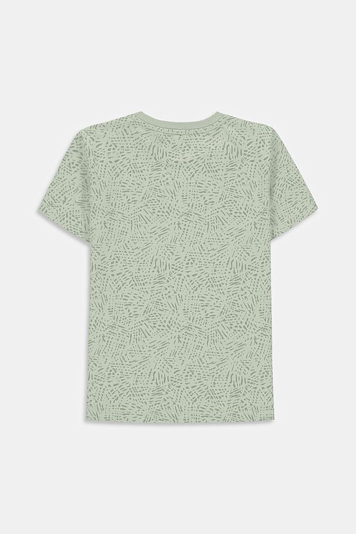 T-shirt z nadrukowanym napisem, 100% bawełny, PASTEL GREEN, detail image number 1