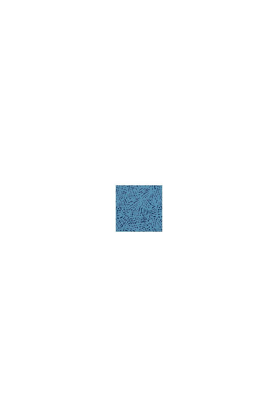 T-Shirt mit Statement-Print, 100% Baumwolle, GREY BLUE, swatch