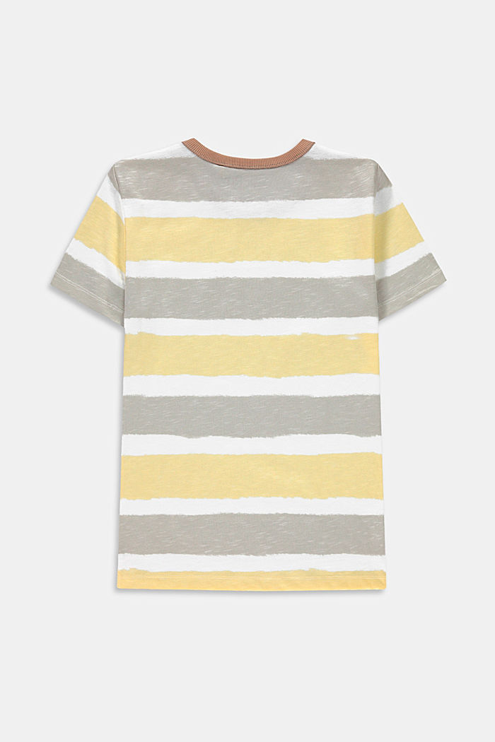 Gestreept T-shirt, 100% katoen