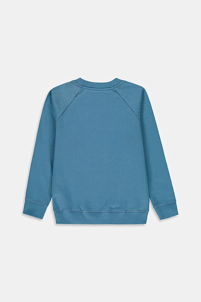 Sweatshirts, GREY BLUE, detail image number 1