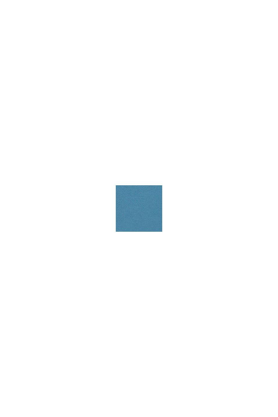 Sudadera con logotipo, 100% algodón, GREY BLUE, swatch