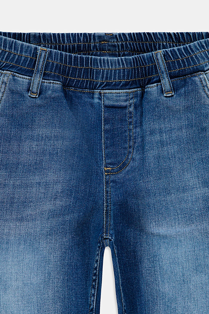 Shorts denim, BLUE MEDIUM WASHED, detail image number 2