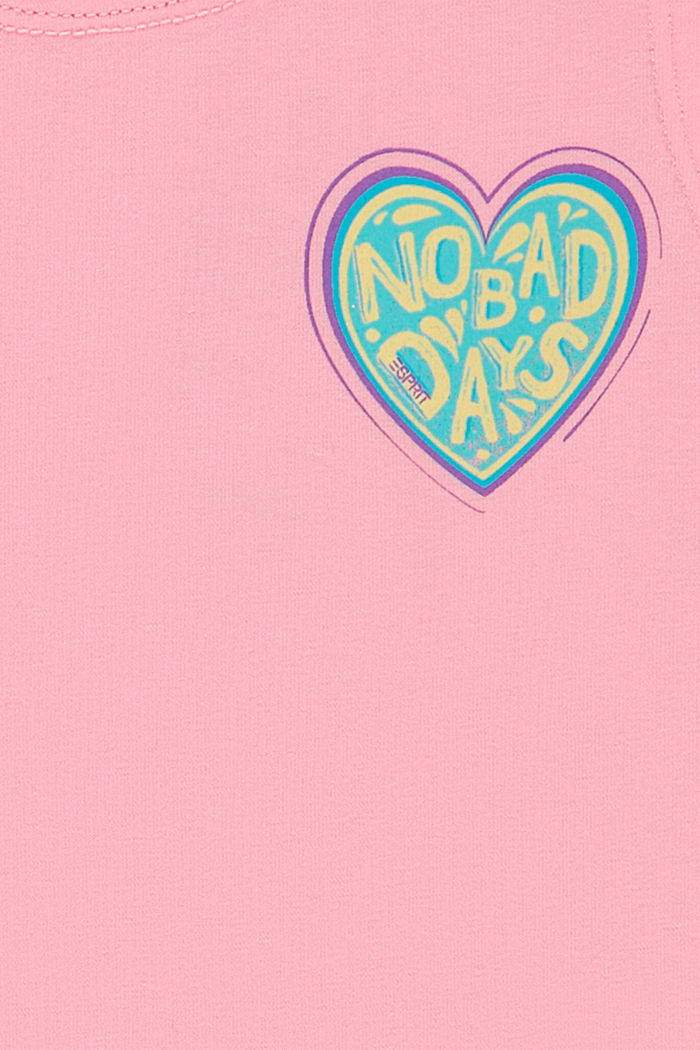 Top de tirantes con estampado de corazón, LIGHT PINK, detail image number 2