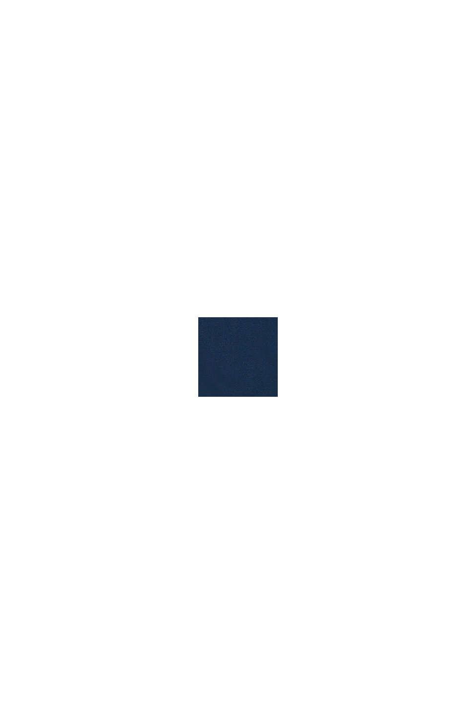 T-shirt di cotone con stampa, PETROL BLUE, swatch