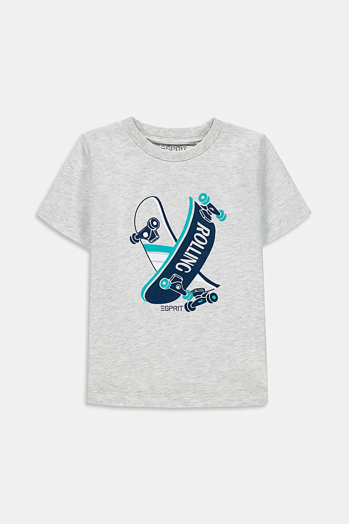 Camiseta con estampado, 100% algodón