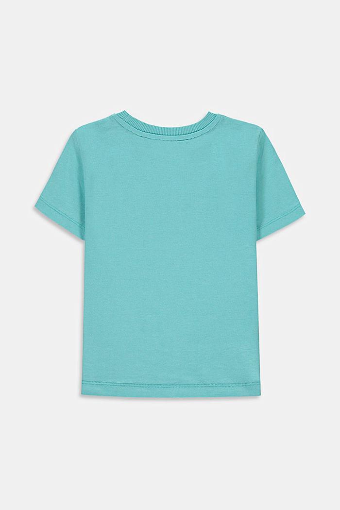 Camiseta en 100% algodón con rótulo
