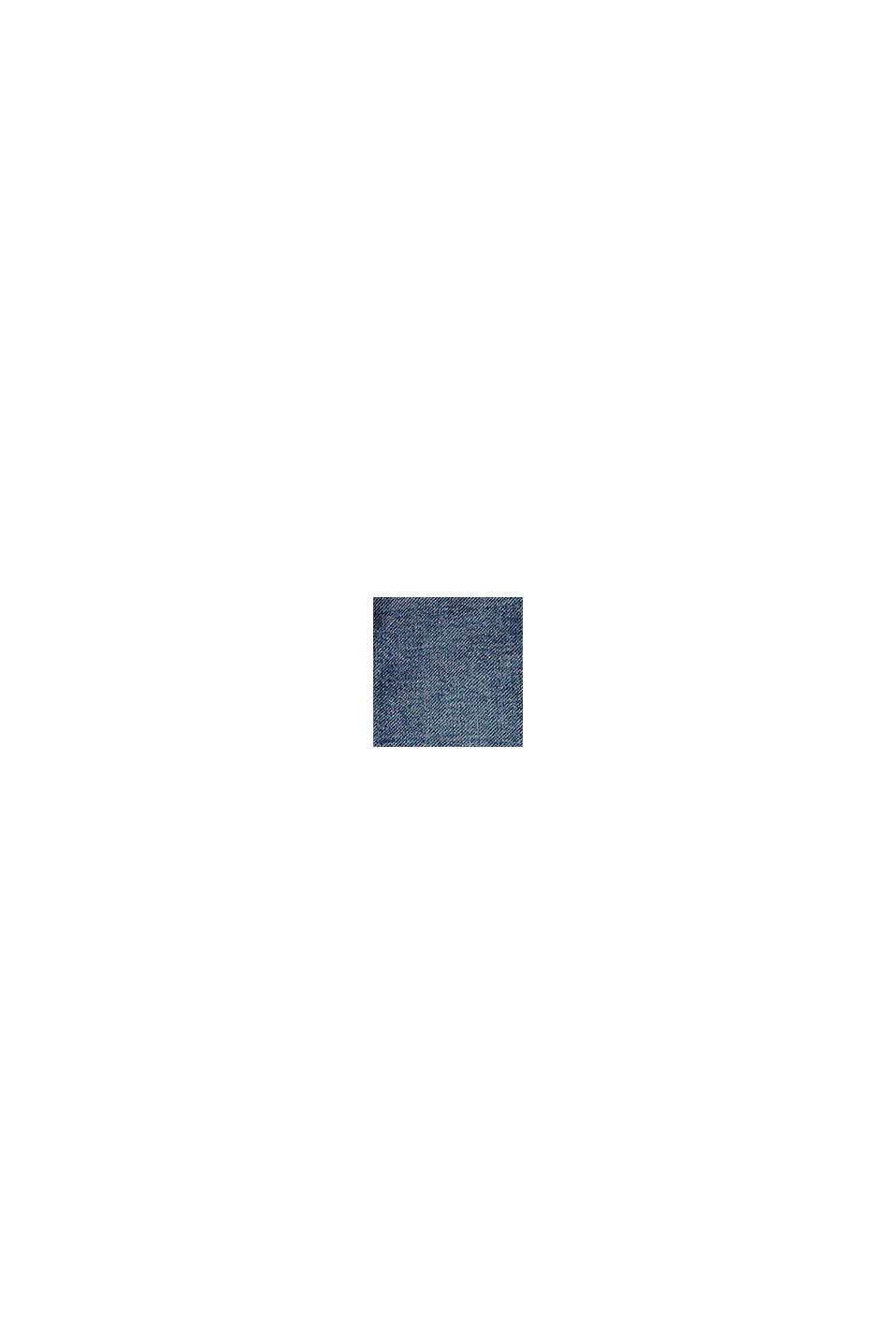 vaqueros de cintura elástica, algodón ecológico, BLUE MEDIUM WASHED, swatch