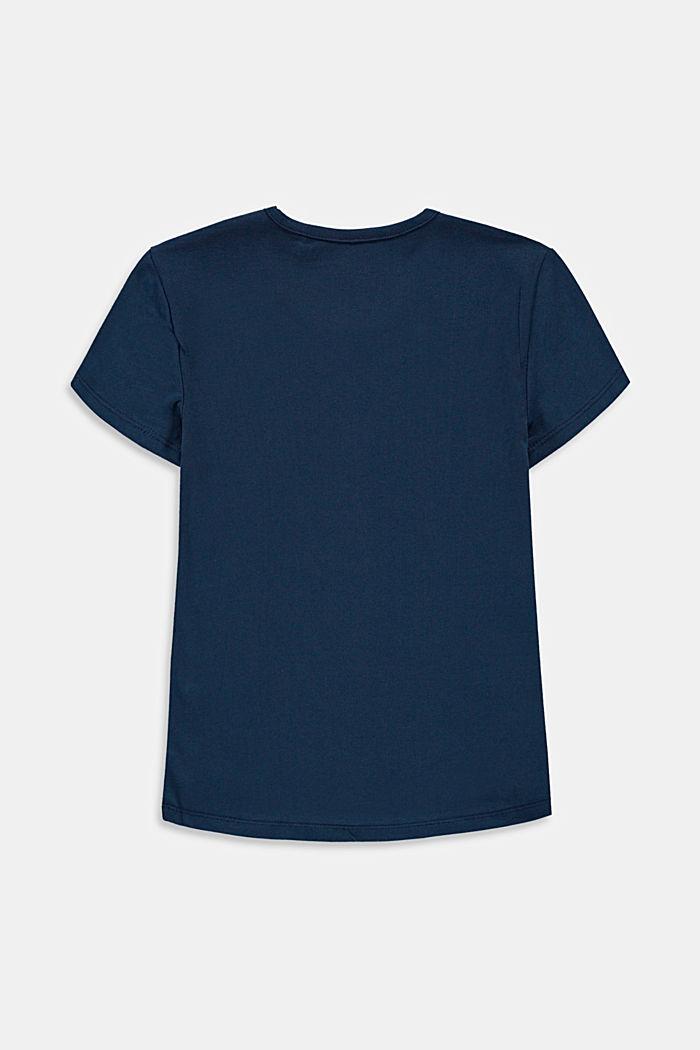 T-Shirt mit Print, Baumwoll-Stretch