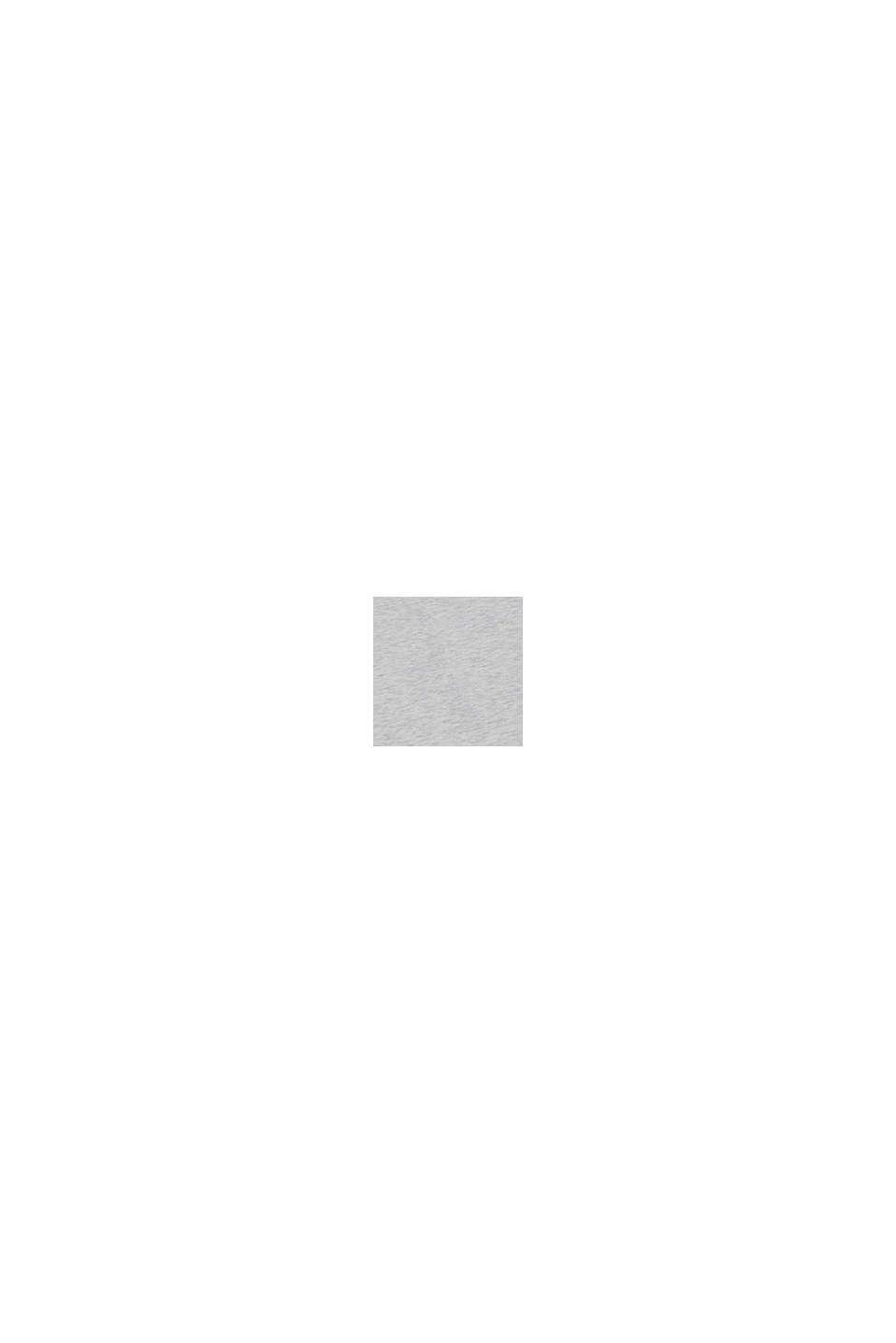 Top mit Ripp-Trägern aus Baumwoll-Stretch, DUSTY NUDE, swatch