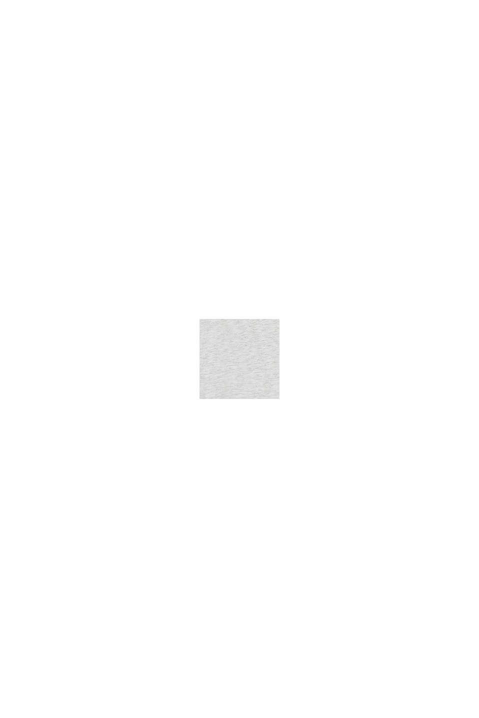 Maglia oversize dal taglio cropped con stampa, DUSTY NUDE, swatch