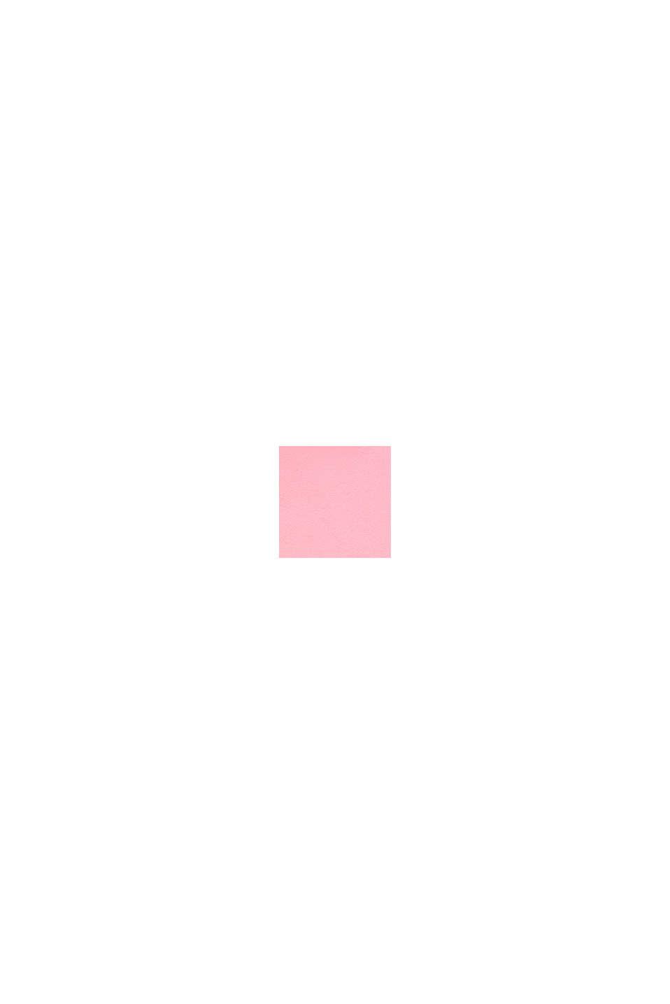 Zipp-Hoodie mit Logo-Print, 100% Baumwolle, LIGHT PINK, swatch
