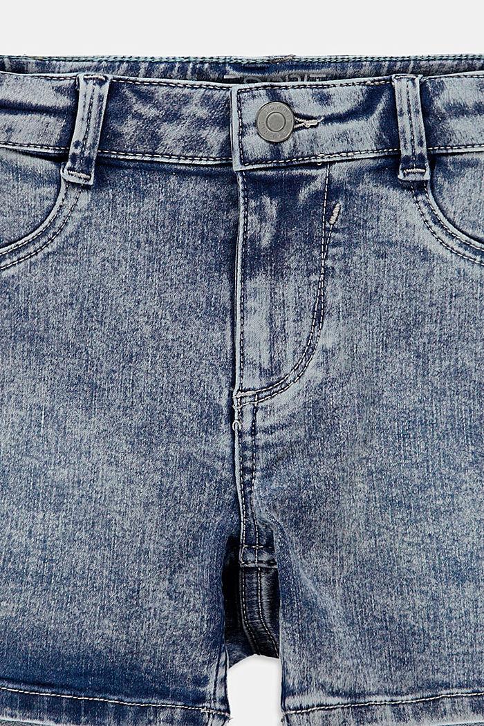 Shorts denim, BLUE MEDIUM WASHED, detail image number 2
