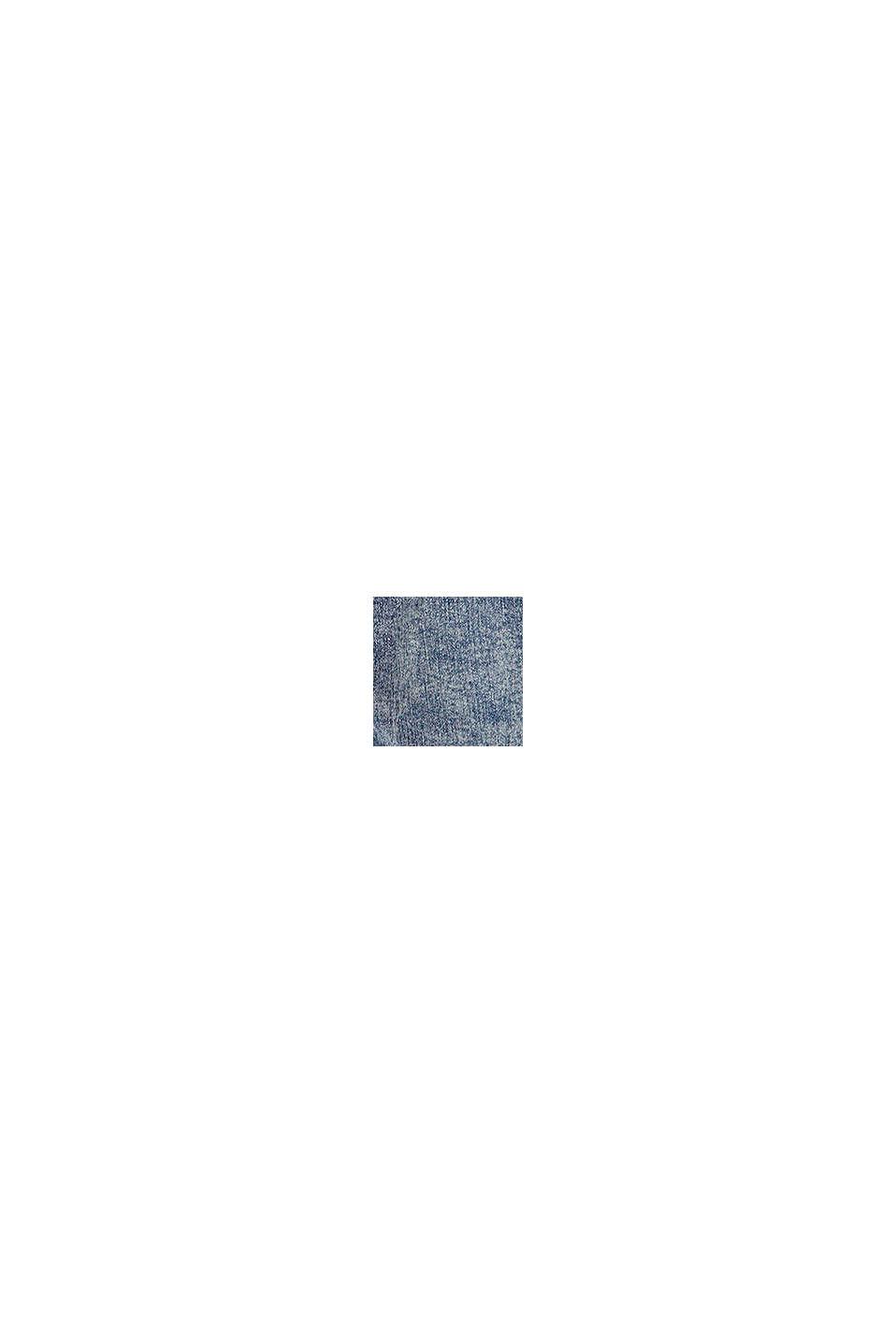 Vaqueros cortos con efecto de lavado moderno, BLUE MEDIUM WASHED, swatch