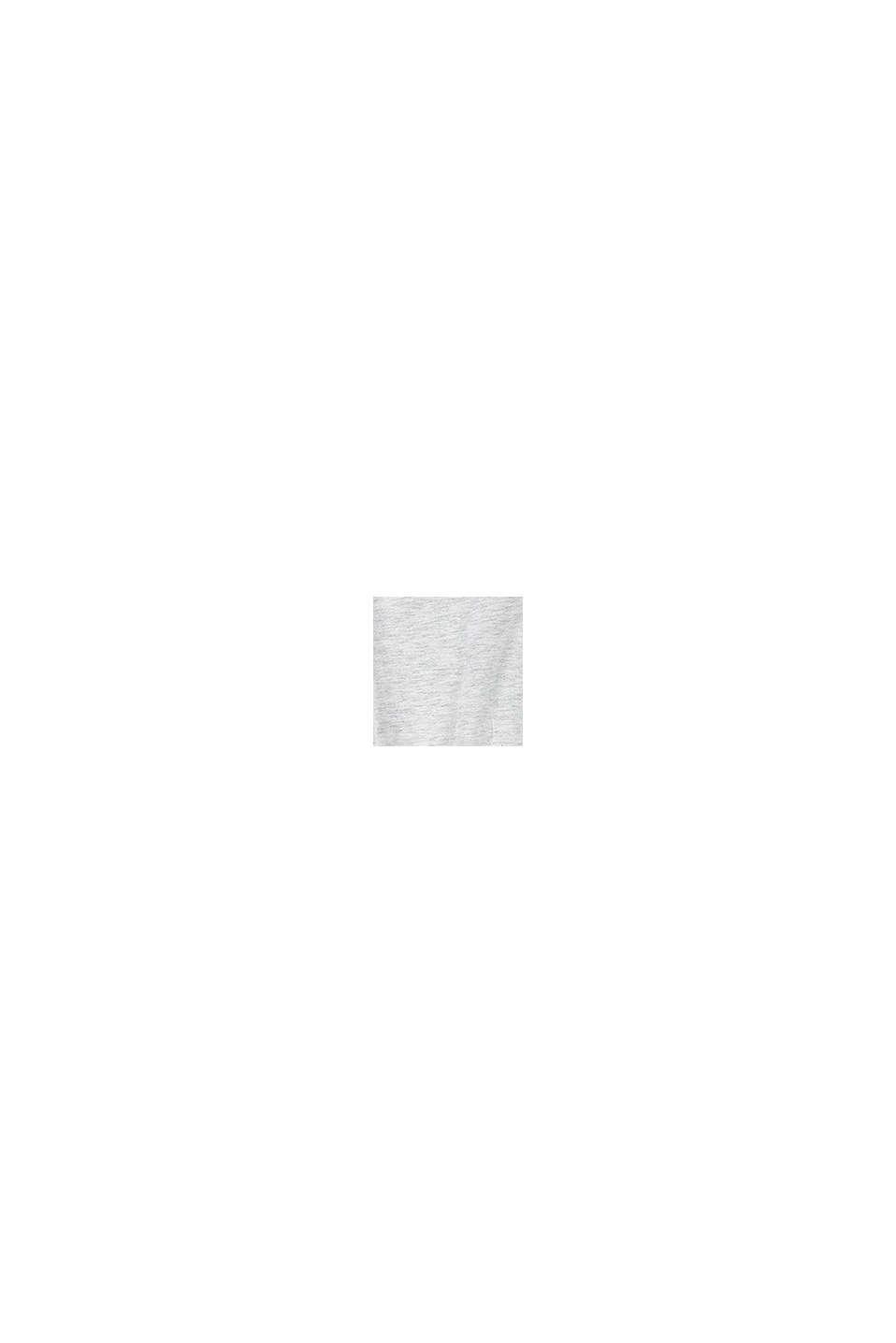 Jerseykleid mit Print aus Baumwolle, DUSTY NUDE, swatch