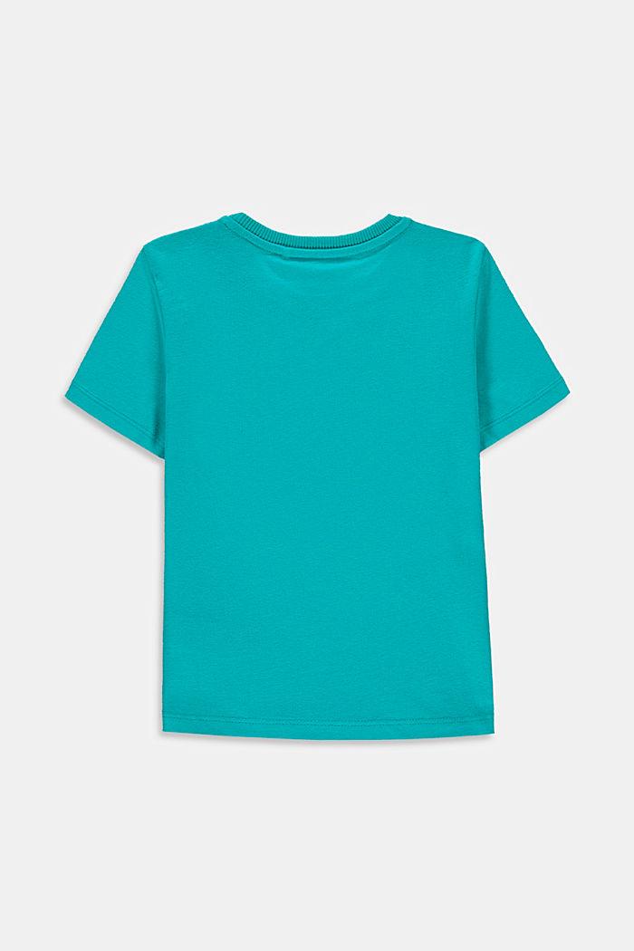 T-shirt van 100% katoen met logo