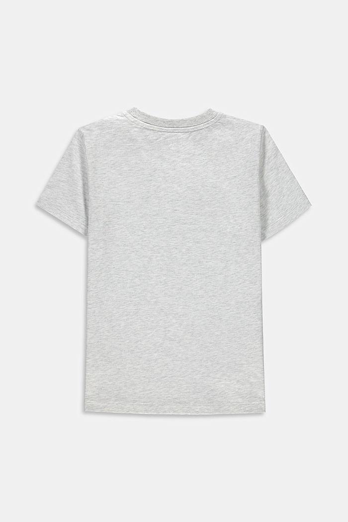 T-shirt met print, 100% katoen, DUSTY NUDE, detail image number 1