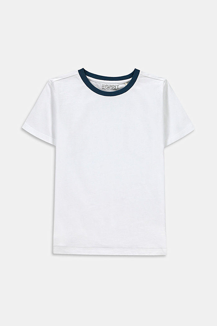 T-shirt with a back print, 100% cotton